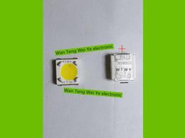 Wholesale 1w Led Lumens - Wholesale- LUMENS LED Backlight High Power LED 1W 3V 3535 3537 Cool white LCD Backlight for TV TV Application