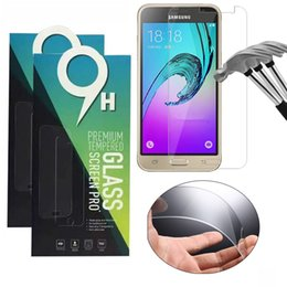 Wholesale Ace Screen - Screen Protector film 0.26mm tempered glass smart glass for smartphone Samsung J1 ACE J2 J3 J5 J7 2016 A310 A510 A710