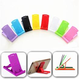 Taşınabilir Katlanabilir Mini Masa Plastik Standı Tutucu Ayarlanabilir Telefon Braketi Tembel Tutucu iphone 7 Samsung ipad Cep telefonu için Evrensel nereden tembel ipad tutucu tedarikçiler
