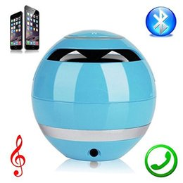 Wholesale Mobile Ball - Mini Ball Portable Wireless Bluetooth Speakers Handfree MIC Support TF Card FM Radio Super Bass Stereo Subwoofer Speaker