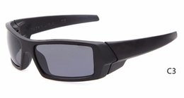 Wholesale Gas Mirror - BRAND NEW!Mix Color gas can sunglasses Fashion Men Women Sunglasses classic Outdoor Sport sun glasses free shipping