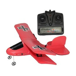 Wholesale Rtf Rc Airplanes - Flybear FX-808 2.4G 2CH EPP Micro Indoor Parkflyers RC Biplane RTF Airplanes High quality airplane airbus