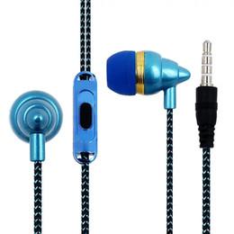 Wholesale Cool Ear Headphones - Earphone for Samsung iPhone HTC xiaomi sony earphones 3.5mm universal in ear Earbuds cool sport headsets headphones with mic new arrival
