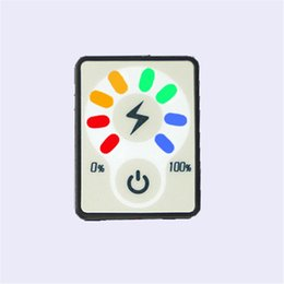Wholesale Wholesale Ion Tester - 2pcs lot 3S 12V Lithium Battery Capacity Indicator Li-ion Battery Touch Button Switch DC Digital Display Tester Detector Meter