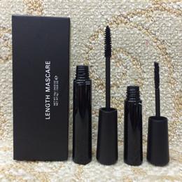 Брендинг ресниц бренды онлайн-M * C Марка макияж набор комплекты 3D волокна ресницы тушь для ресниц водонепроницаемый черный длина ресниц Длинные ресницы расширения косметический комплект