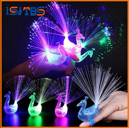 Wholesale Toys Mushroom Lamp - LED Finger Lamp LED Finger Ring gifts Lights Glow Laser Finger Beams LED Flashing Ring Party Flash Kid Toys 4 Colors