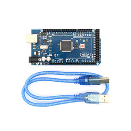 Wholesale Arduino 3d Printer - 3D Printer Parts Mega ATMEGA16U2-MU Development Board + USB Cable Compatible for Arduino ATMega 2560 R3 Good Quality