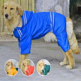 Canada 2018 offre spéciale vente chaude manteaux de pluie manteaux, vestes vêtements de plein air le chien grand animal quatre Golden Raincoat Samoye Big vêtements réfléchissants Offre