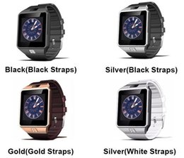 Wholesale Smart Phone Remote Support - DZ09 Smart Watch With HD Display Bluetooth Connection Support Music Player Phone Calling Sedentary Reminder for iphone Android Phone