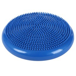 Wholesale Massage Balls - Wholesale-Twist Balance Disc Board Pad Inflatable Foot Massage Large-sized Waist Wriggling Plate 180kg Bearing Force Fitness Exercise