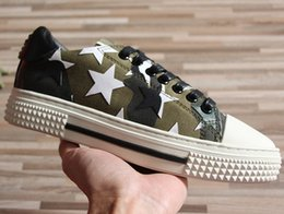 Wholesale Beading Star - Newest Luxury Brand Style Women Men Shoes Five-pointed Star Lace-Up Loves Low Casual Shoes Size 34-46