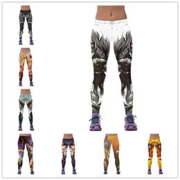 Wholesale Sexy Carry - 12 Styles Free Size Sexy Leggings for women 3D print design leggings Womens Sport leggings Fitness leggings Carry buttock pants LA319