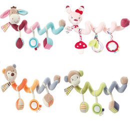 Wholesale Babys Bedding - Newborns Babys Toys Appease Bed Around Plush Boys And Girls Bed Hanging Baby Rattles Baby Room Supplies Baby Room Decoration Toys Rattles