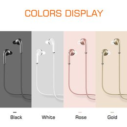 Wholesale V3 Wireless Bluetooth - V3 Bluetooth 4.1 mini Earphone Sport Running With Mic Earbud Wireless headphone Car Driver Bluetooth Headset For iPhone Samsung all phone