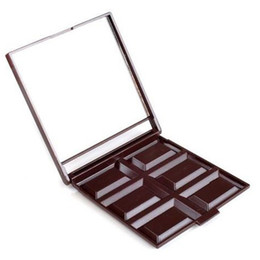 Wholesale Cosmetic Chocolate Mirror - Free Shipping NEW Creative cute Chocolate make-up Mirror portable pocket cosmetic mirror Pocket mirror Fashion Gift Wholesale