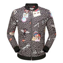 Wholesale Mens Hottest Hoodies - 2018 Autumn Winter Hot Sell Men's Jacket Length Sleeve Hoodies Sweatshirts Print Tiger Bee Cat Hoody Hooded Mens Zipper Outwear Coat 720