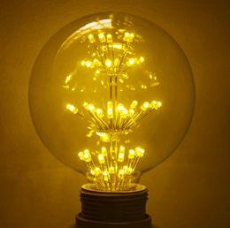 Wholesale Gypsophila Paniculata - Edison decoration bulbs G80   G95   G125 retro Edison light bulb bar KTV cafe Gypsophila paniculata light bulb E27