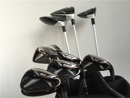 Wholesale Driver Golf - M2 Full Set M2 Set High Quality Golf Clubs Driver + Fairway Woods + Irons Graphite Steel Shaft With Cover