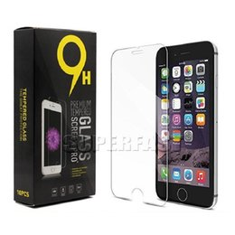 Wholesale Screen Protector Chinese - For Moto Z Force Tempered Glass Screen Protector Film 9H For Coolpad Catalyst LG Stylo 2 Plus Clear Screen Protector with Paper Package