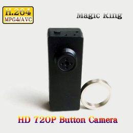 Wholesale Remote Controller Dvr - 720P HD Mini DV DVR Spy Button Camera Voice Video Recorder button camera with Magic Controller Remote in Retail Box Dropshipping