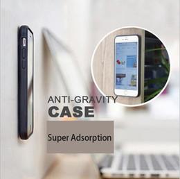 Wholesale Gravity Anti - anti-gravity phone case cellphone case for iphone X 5 iphone 6 iphone 7 Galaxy s5 S6 edge s7 edge S7 EDGE S7