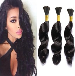 naturalhairfactory Brazilian Human Hair Bundles Loose Weave 7A Unprocessed 16-30inch hair Bulk Deals 3pcs Lot Natural color Can Be Dyed Coupons