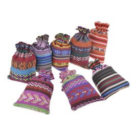 pacote para brincos Desconto Nova Moda multicolors 10 * 14 cm bolsas de jóias apto para colar pulseira brinco pacote de presente sacos de algodão B1108