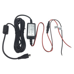 Wholesale Universal Wiring Kit - Wholesale-Car Charger Hardwire Kit Hard wire kit Micro USB Or Mini USB Universal Katallobar Compatible with Camera Dashcam