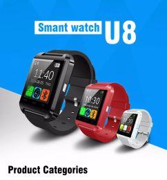 Wholesale M3 Watch - Smartwatch U8 Bluetooth Smart watch for Apple iPhone & Samsung s5 s6 HTC Huawei Xiaomi Meizu m3 Android Phone u80 Altitude Meter
