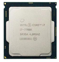 Wholesale Desktop I7 - Desktop CPU i7 7700K Processor 4.20GHz DDR4 Quad Core Socket LGA1151 8MB Cache Kaby Lake Integrated graphics HD630 I7-7700K