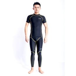Wholesale Wetsuit Swimming Man - High Quality 2017 New Men Women Wetsuit Scuba Diving Suit One-Piece Swimwear Swimming Suits Dive Rashguard Unisex HX31
