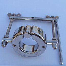 Wholesale Testicle Locks - Penis Ring Stainless Steel Scrotum Pendant Testicle, Cock Rings,Penis Lock,Adult Game, SM Sex Toy for Men,B2-2-52