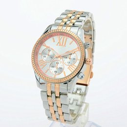 Wholesale Men Women Michael Watch - Luxury Famous Women michael Quartz Watch round stainless steel fashion wristwatch with for men women watches wholesale Retail