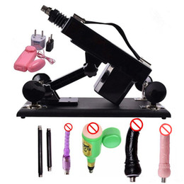 Wholesale G Spot Machine Dildo - Luxury Automatic Sex Machine for Men and Women Sexual Intercourse Robot with Many Dildo Attachments and Male Masturbation Cup Sex Toys