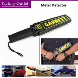 Wholesale Garrett Gold Metal Detector - Factory Shipping!High Sensitivity Garrett Super Scanner Hand Held Gold Metal Detector For Security Detectors High Quality