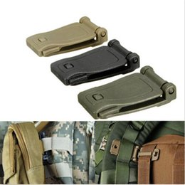 Wholesale Web Kits - Buckle bushcraft kit Connect molle attach Strap link Tactical Backpack Bag Webbing webdom Belt Clip Clasp Outdoor Camp Hike web SC035