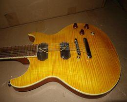 Wholesale China Cheap Guitar Free Shipping - Wholesale-Stock Guitar yellow Electric Guitar NO pickup Sell cheap China guitar Free shipping wholesale guitars from china