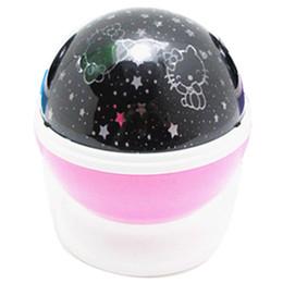 Stern-LED-Projektor-Nachtlicht-Baby-Schlafenacht-Lampen 100PCS Wholesale FREIES VERSCHIFFEN von Fabrikanten