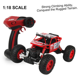 Wholesale Electric Brushed Motor Rc Car - Wholesale- 3288 RC Racing Car Remote Control 2.4G 4CH 1 18 Model Electric RC Car High Speed Rubber Kid Toy