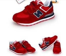 Wholesale Closed Looping - 2017 new children's sports shoes running shoes autumn and winter children's casual shoes size 25-37