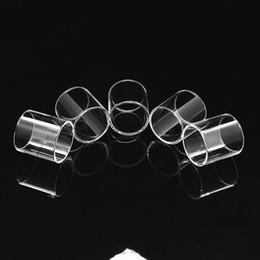 smok tfv4 mini Rebajas Fábrica al por mayor Pyrex Reemplazo glassTube claro para SMOK TFV8 Big Baby Smok TFV8 Bebé Bestia tfv8 x bebé TFV4 mini TFV12 Tanque
