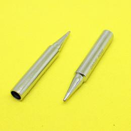 Wholesale Free Soldering Iron - Wholesale- TL-193 907-T-1C GJ Lead-free electric soldering iron solder tip IUniversal MT-3927 MT-3917 905E 907 MT-3918