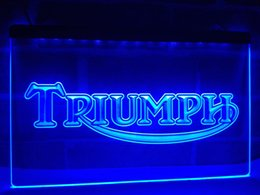 Wholesale Motorcycle Triumph - LG051b- Triumph Motorcycles Services Repairs LED Neon Sign