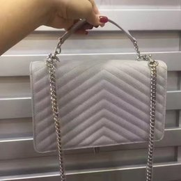 Wholesale Small Soft Box - new arrival 2017 made in real leather good quality luxury brand shoulder bag for women with box free shipping