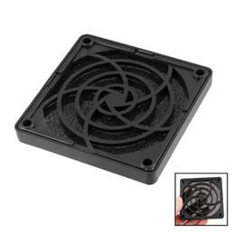 Wholesale Square Filter Case - Wholesale- CAA-Plastic Square Dustproof Filter 80mm PC Case Fan Dust Guard Mesh