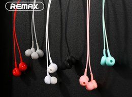 Wholesale Ear Plugs For Mobile - Newest Remax RM510 in- earphone 3.5MM plug Pure Touch Music Earphone Wired earphone for mobile