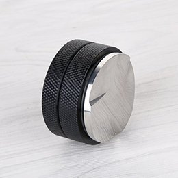 Wholesale Leveler Tool - Coffee Distributor Leveler Tool-New 3 Leaf Clover Base Palm Tampers Coffee Leveler Macaroon Tamper Proof for Espresso Coffee Grounds