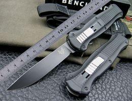 Wholesale Good Survival - Top quality Black Blade Benchmade BM 3310BK Infidel tactical Knife good action Plain EDC gear pocket survival knives