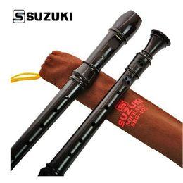 Wholesale Recorder Toy - Wholesale-Suzuki SRG-405 Clarinet Clarionet German 8 holes Soprano Recorder Kids Toys Instrument