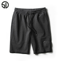 Wholesale Preppy Mens Clothes - Wholesale- Woodvoice 2017 Summer Brand Clothing Mens' Sporting Shorts Casual Outwear Short Trousers For Male Black Gray Color Free Shipping